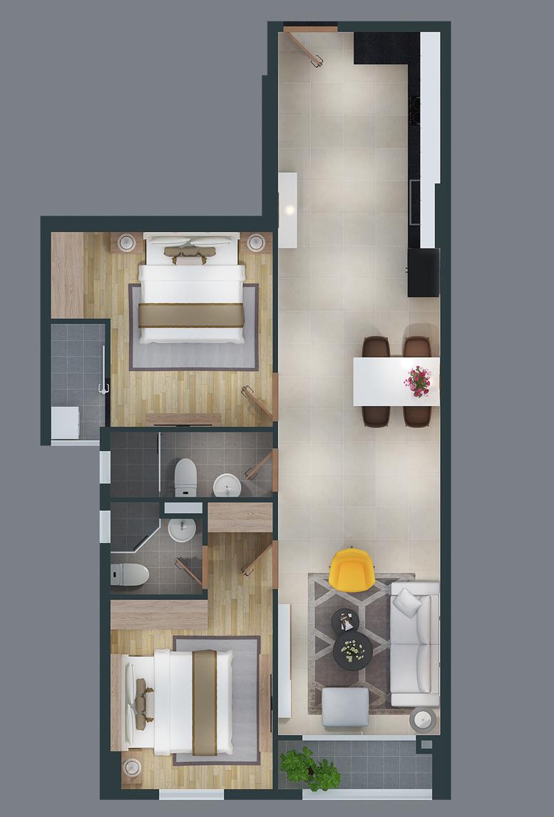 mat bang can ho cityland park hills apartmetnt ch-20-2