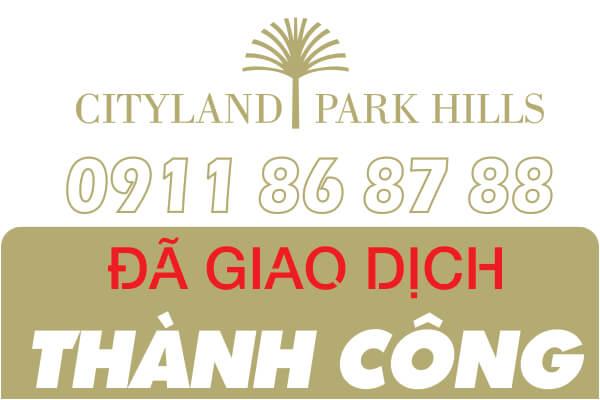 Bán căn hộ P4- 10.08 Cityland Park Hills lầu 10 nhìn ra hồ bơi cực đẹp