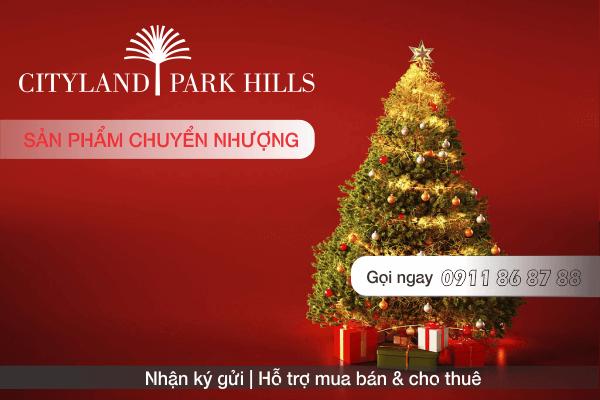 Bán căn hộ P4 804 Cityland Park Hills lầu 8 view công viên trung tâm