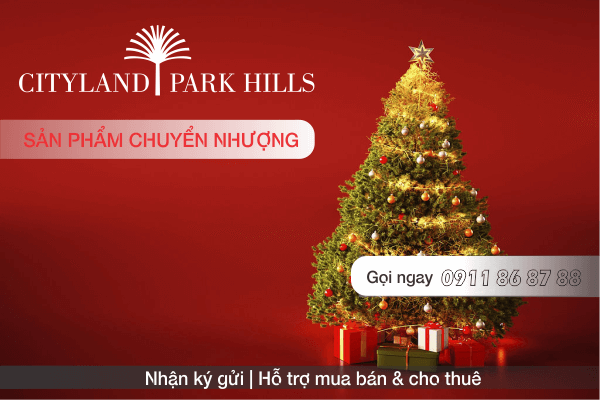 Bán căn hộ P3 11.06 Cityland Park Hills lầu 11 nhận nhà 12/2019