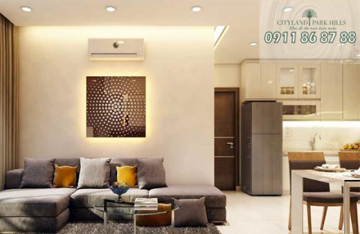 Bán căn hộ Cityland Park Hills Tầng 6, View đẹp - Nội thất đầy đủ