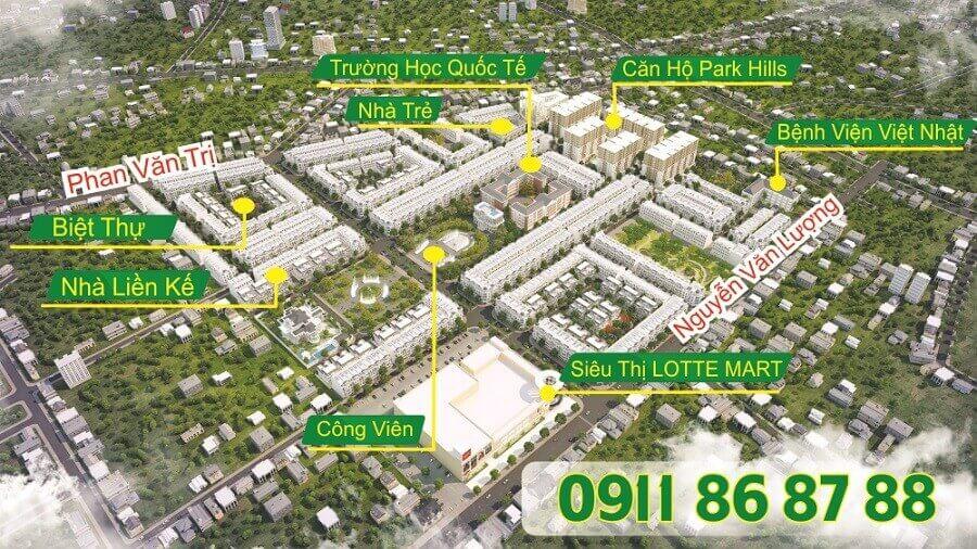 Xem chi tiết dự án KDC Cityland Park Hills